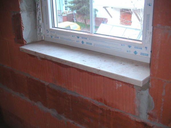 Der bau eines einfamilienhauses in th ringen - Fensterbank einbauen ...